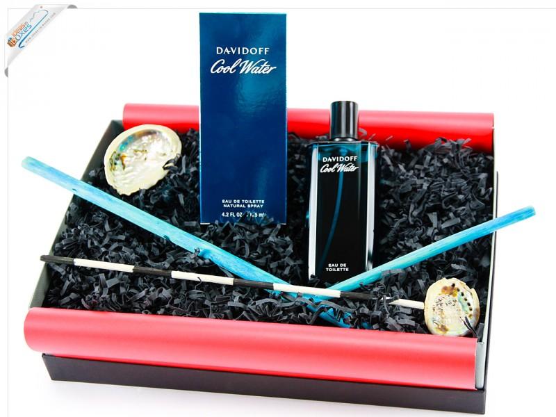 Davidoff Cool Water, homme/man, Eau de Toilette, Geschenk (1 x 125 ml) - Beauty Box