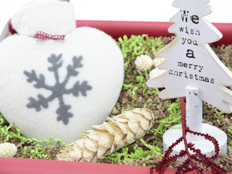 Geschenkbox zu Weihnachten - Weihnachtsgeschenk Box 207