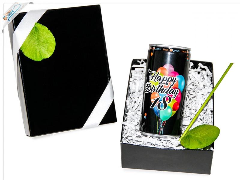 Secco Bianco zum 18 Geburtstag - Geschenkset