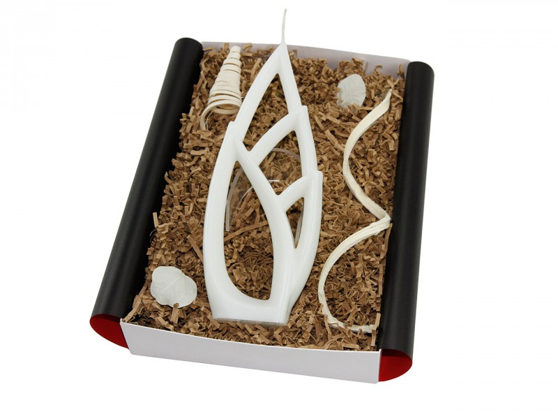 """Besondere Geschenkbox """"Livia grande"""" Alusi Kerze (Romantische Geschenkidee) Valentinstagsgeschenk"""