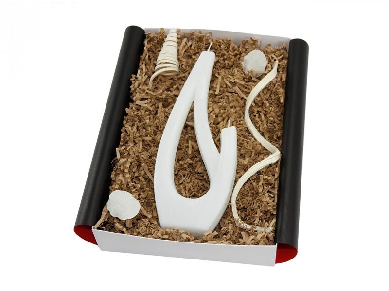 """Besondere Geschenkbox """"Saba grande"""" Kerze (Tolles Geschenk für Sie und Ihn) Romantische Geschenkidee für Männer und Frauen"""