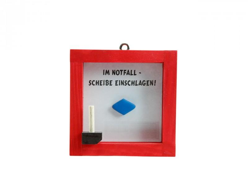 Notfall-Set ROT Blaue Pille, deutsch