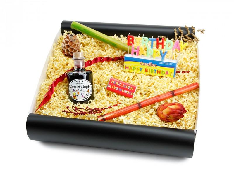 """Geburtstagsbox für jedes Alter """"Geburtstagstrunk"""""""