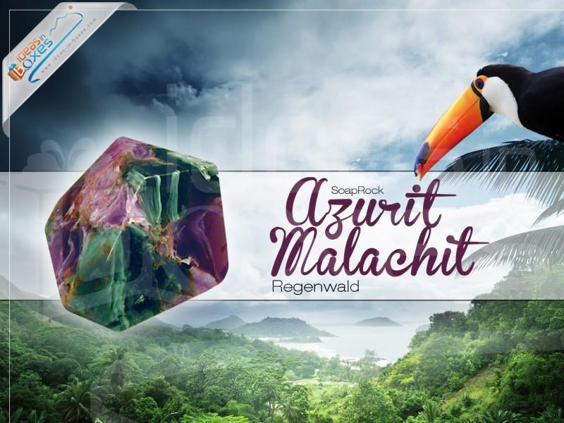 "Geschenkbox ""Azurit Malachit"" (SoapRocks"