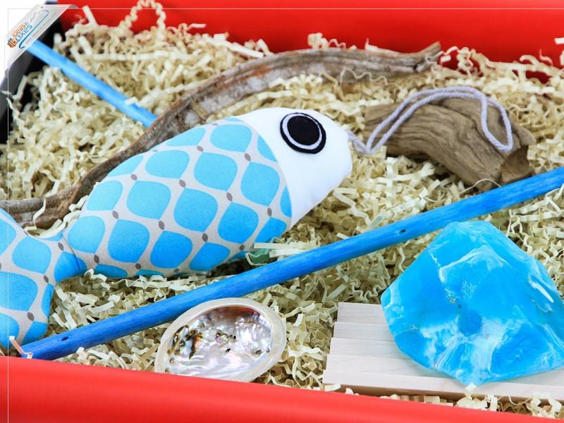 DIY Dekofisch Geschenkset mit SoapRocks Kristallseife