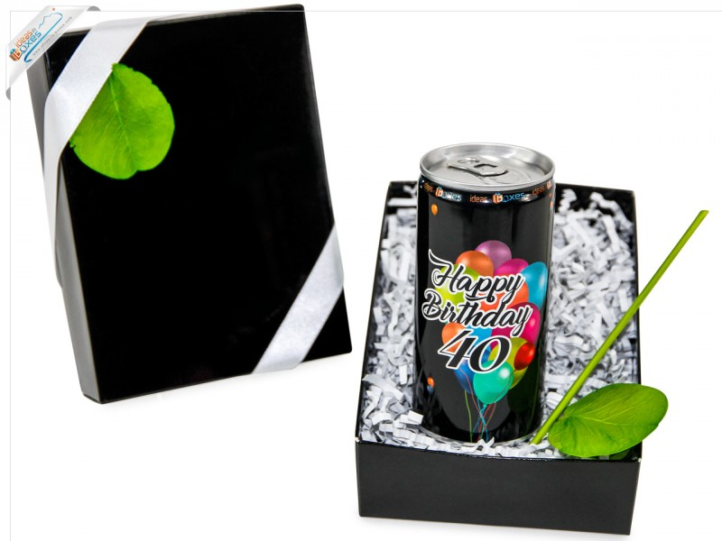 Secco Bianco Geschenkset zum 40 Geburtstag