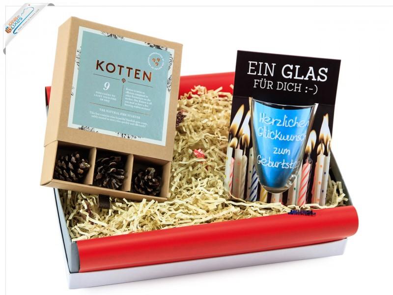 Geburtstagsgeschenk Geschenkset (Kotten +