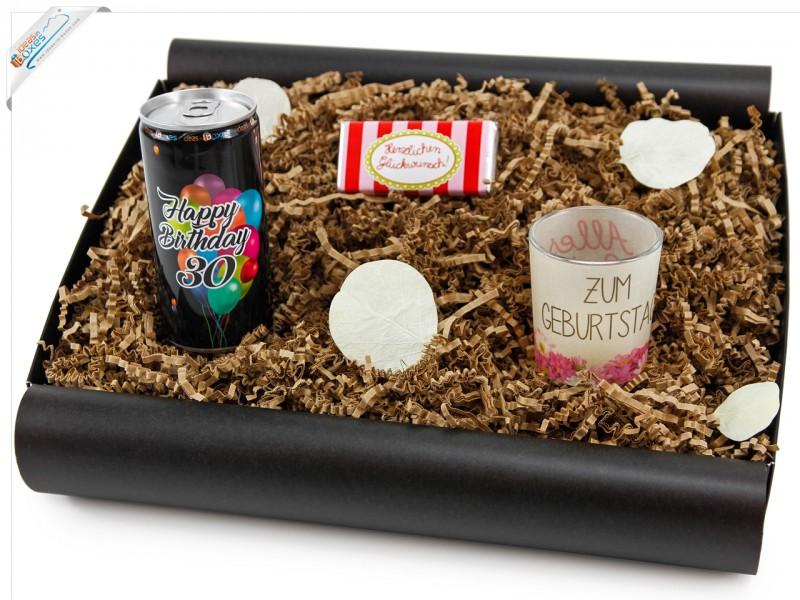 """Geschenkbox von Herzen """"30´ Secco Bianco"""" - Geschenk zum 30 Geburtstag"""