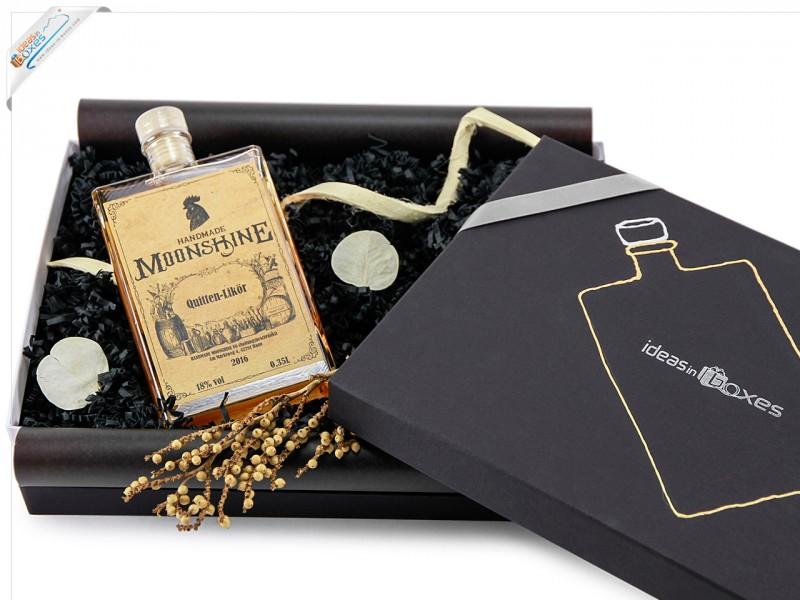 HANDMADE MOONSHINE Geschenkset mit Alkohol