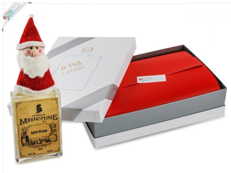 Geschenkset - Weihnachtsgeschenk Set mit Alkohol