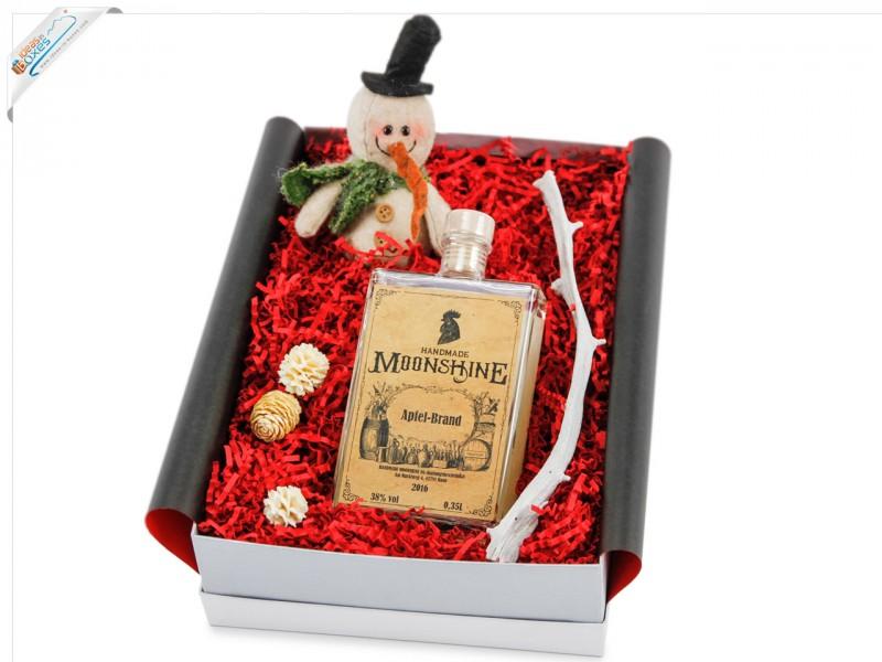 HANDMADE MOONSHINE Geschenkset Quitten-Likör 18% vol - Weihnachtsgeschenk