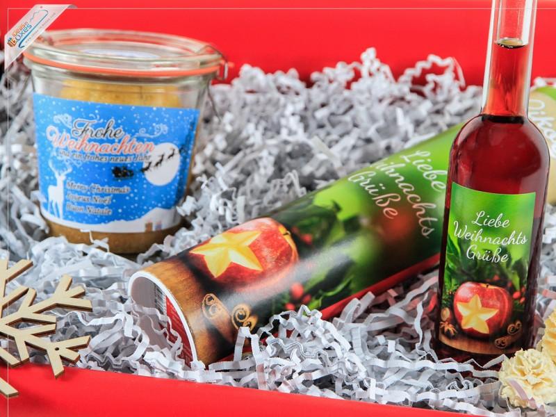 Geschenkset zu Weihnachten - Weihnachtsgeschenk ohne Deckeldesign