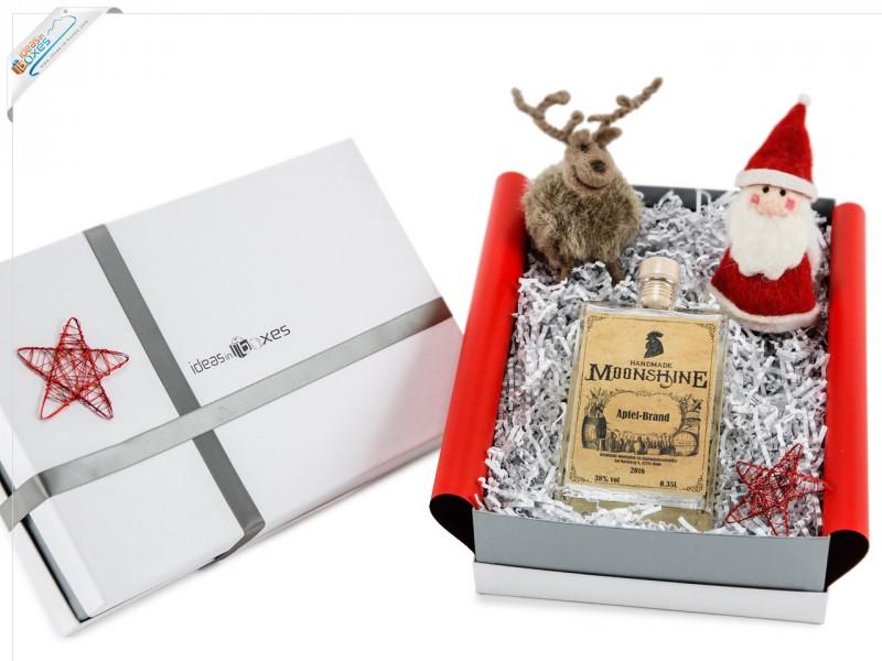 Weihnachtsgeschenk - Whisky Geschenkset