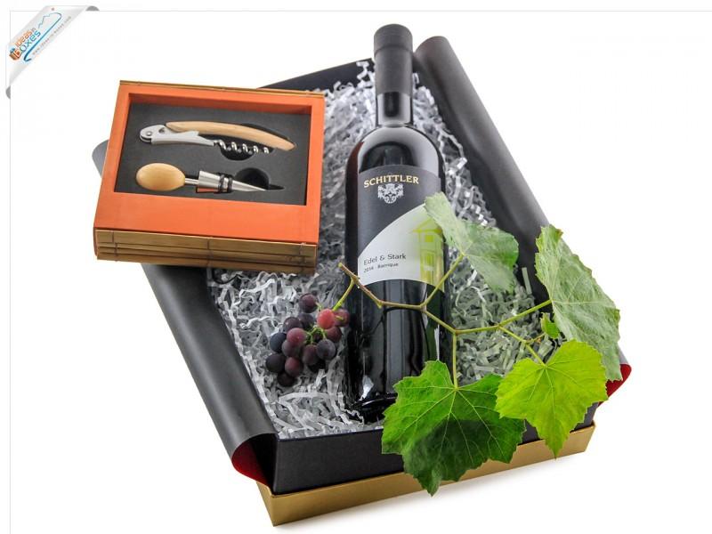 Geschenkset Weinbox