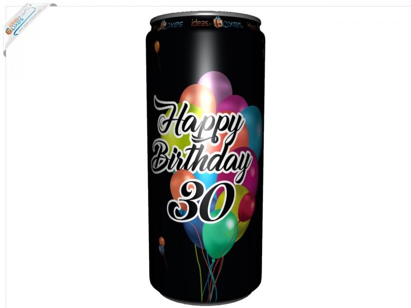 Secco Bianco Geburtstagssektdose zum 30 Geburtstag