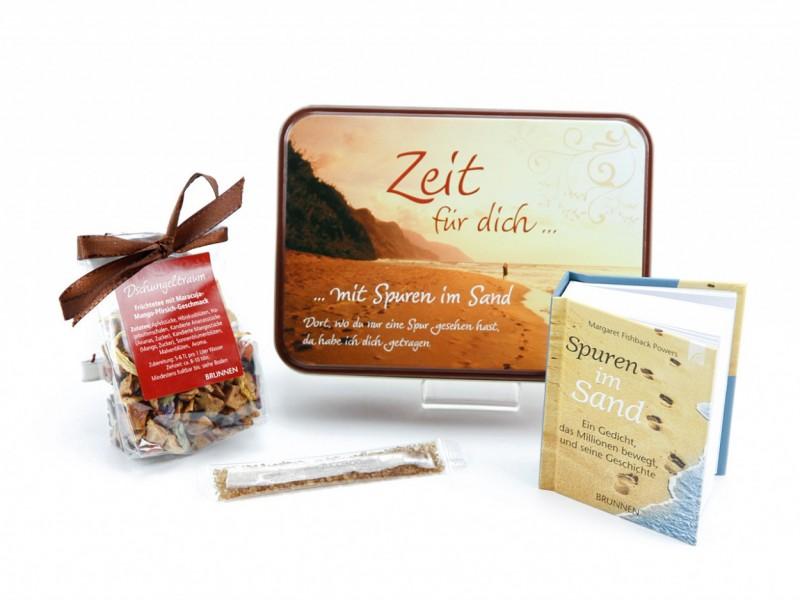 Teedose *Zeit für dich* (Geschenkidee für Mama & Papa) von ideas in boxes