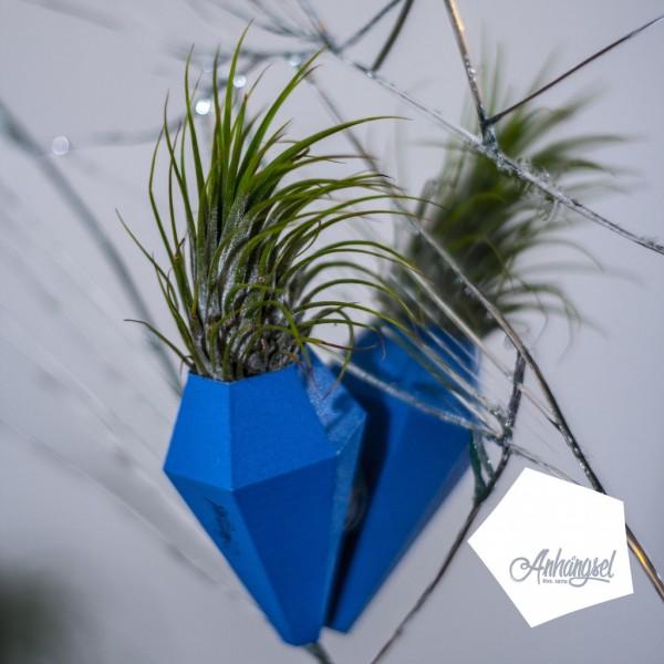 LOM – Minivase mit Saugnapf blau