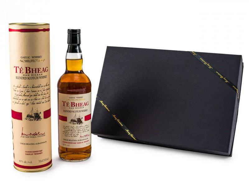 Geschenkset für Männer - Te Bheag Unchillfiltered Whisky