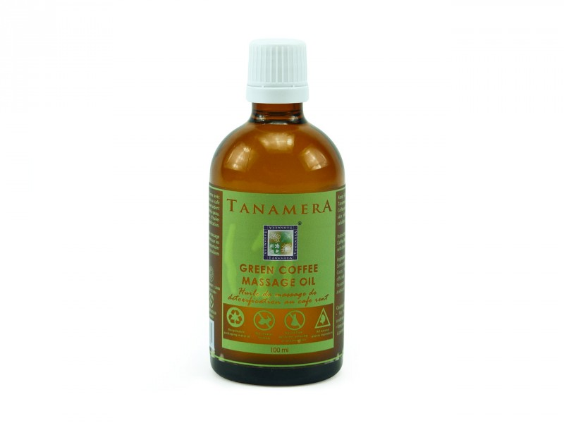 Tanamera Premium Kaffee Massage Öl, 100ml