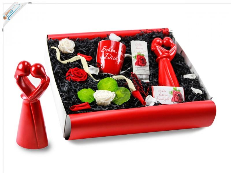 Romantische Geschenkbox für Pärchen