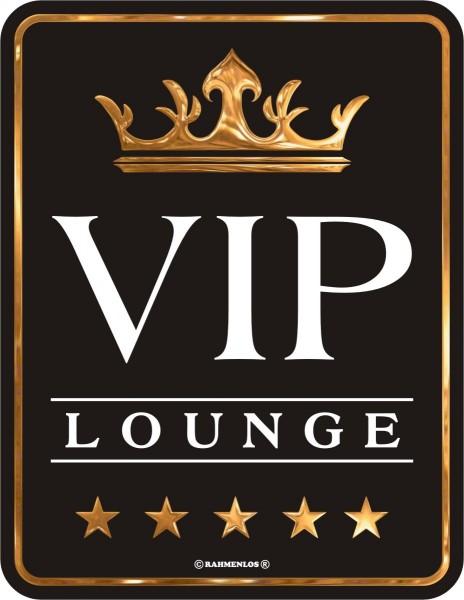 Blechschild - VIP Lounge