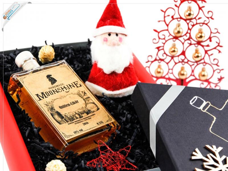 Schöne Geschenkidee - Weihnachtsgeschenk Set mit Likör - Whisky Geschenkset