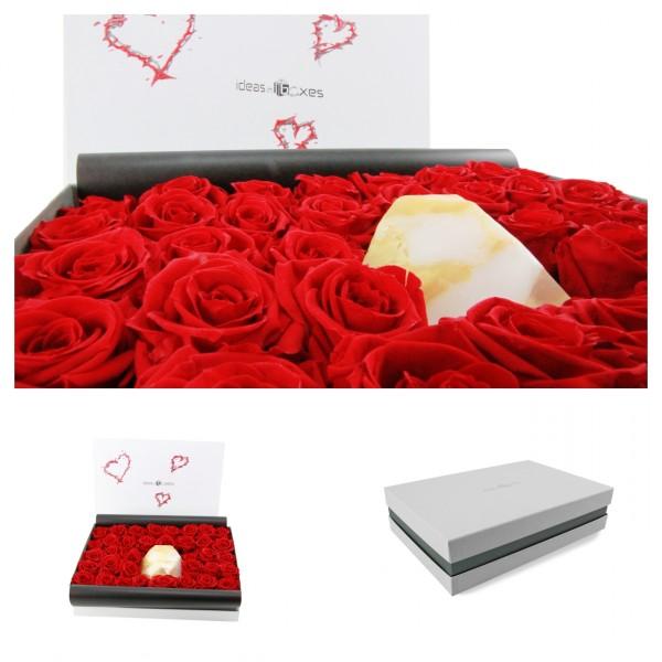 Einzigartiges Valentinsgeschenk in wunderschöner Geschenkbox von ideas in boxes